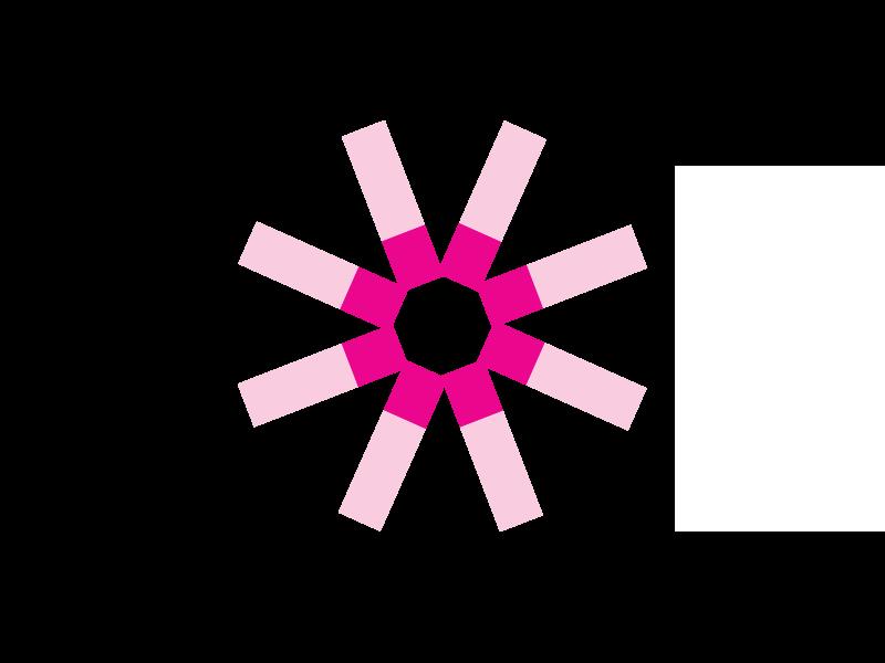 Cassettes Swingsette w/Hinge Pink 1000/cs
