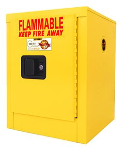 Flammable Storage Cabinet, 4-Gallon