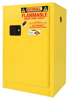 Flammable Storage Cabinet, 12-Gallon