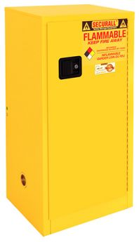 Flammable Storage Cabinet, 16-Gallon
