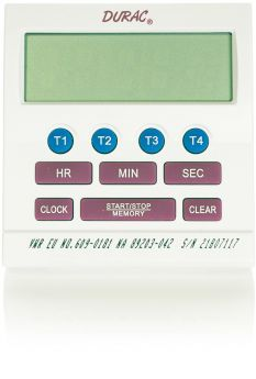 4-Channel Alarm-Timer/Stopwatch