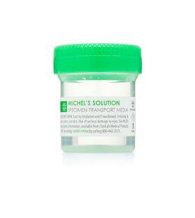 Michels Solution 20 mL Prefill, Green Lid, 96 Vials/cs