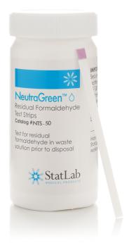 NeutraGreen Aldehyde Test Strips, 50 pack